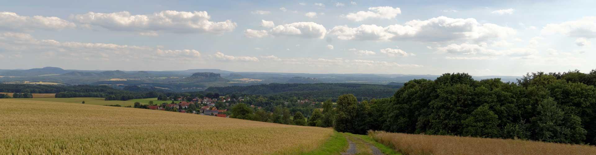 Blick auf Rathewalde