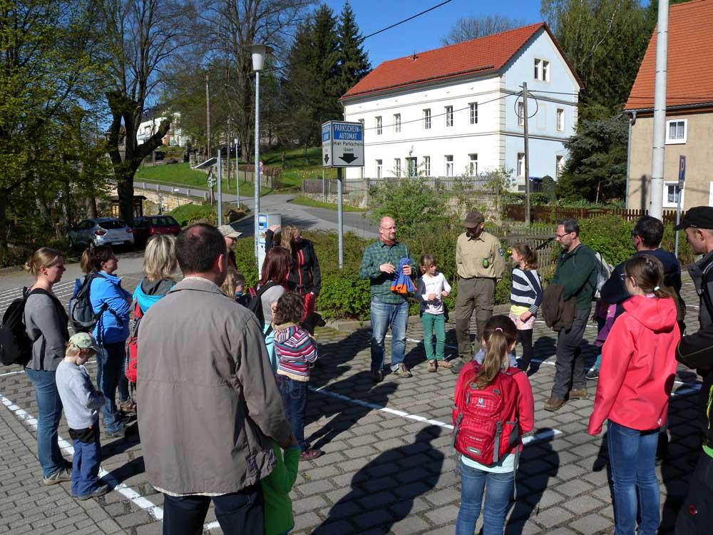Treffen zur Wanderung im Mai 2016