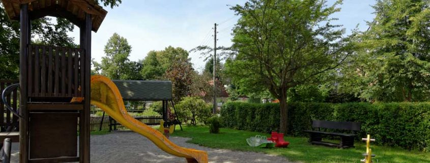 Kinderspielplatz in Rathewalde